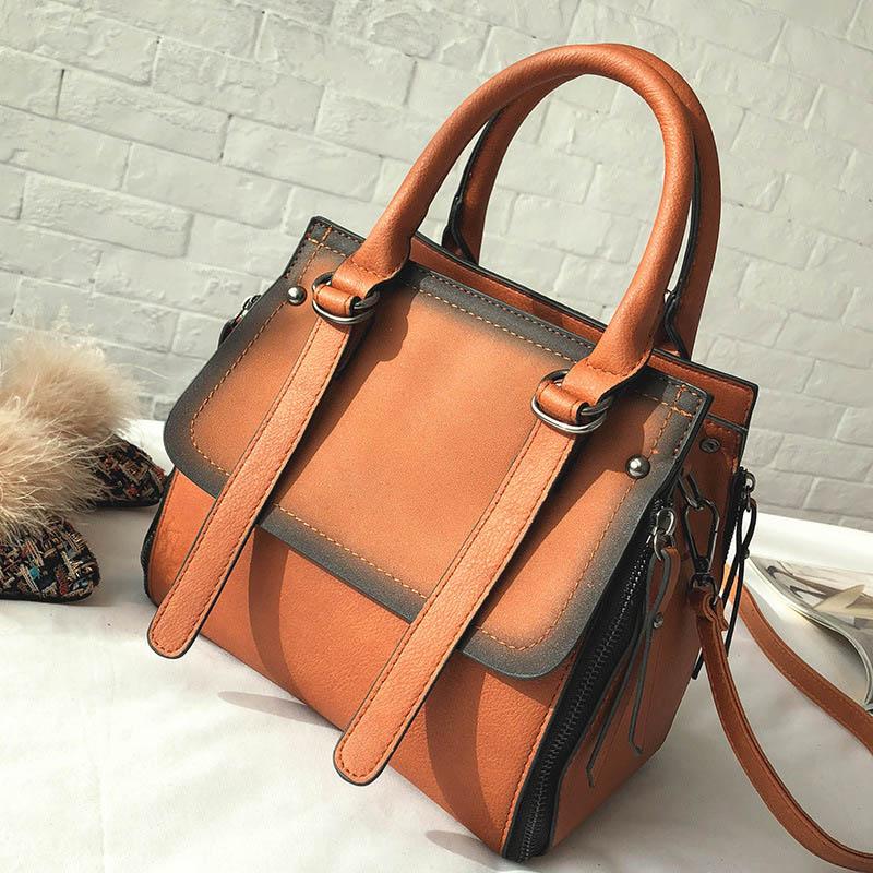 SoAr High Quality Leather Women Bags Belt Decoration Fanshion Handbags Bolsa Feminina Luxury Brands Ladies Tote Shoulder Bag New