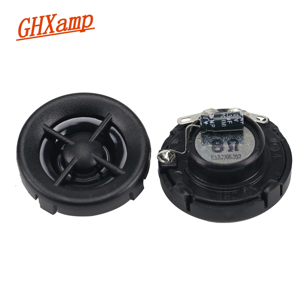 GHXAMP 1 ZOLL 8ohm 20W Auto Hochtöner Lautsprecher Einheiten Neodym Super Höhen 14 core Stimme spule hohe frequenz Mini lautsprecher