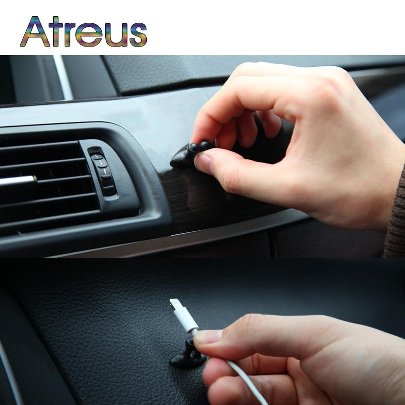 Pegatinas de Clip de alambre para automóviles para Mazda 3 6 cx-5 Audi A3 A4 B6 A6 Q5 Citroen C4 C5 Honda Civic Crv Dio Accesorios