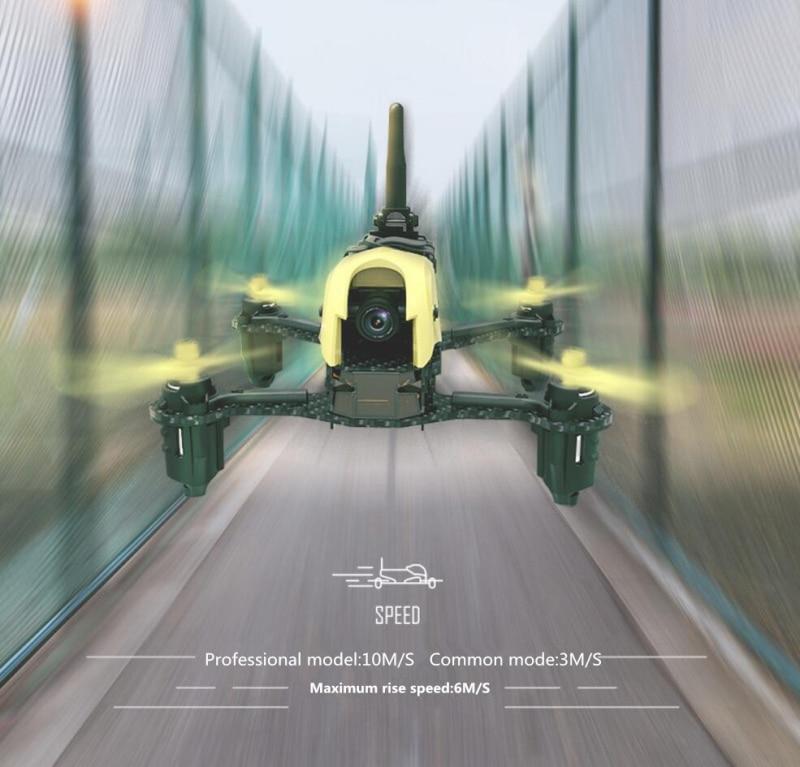 Nuevo vehículo aéreo RC drone H122D X4 tormenta 5,8G FPV Racing RC control remoto quadcopter con 720P Cámara VR de vidrio del X8PRO