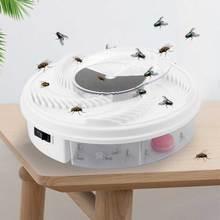 Trampas para insectos volar trampa eléctrica USB atrapamoscas automático volar trampa insecticida eléctrico repelente Catcher Mosquito volando asesino