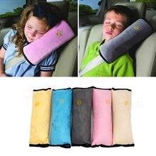 Enfants bébé sécurité ceinture de sécurité oreiller voiture ceinture peluche coussin véhicule épaule Protection voiture-style