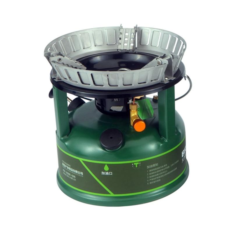BRS 9800W combustible líquido aceite Camping gasolina estufa portátil al aire libre cocina Picnic senderismo equipo Super Firepower