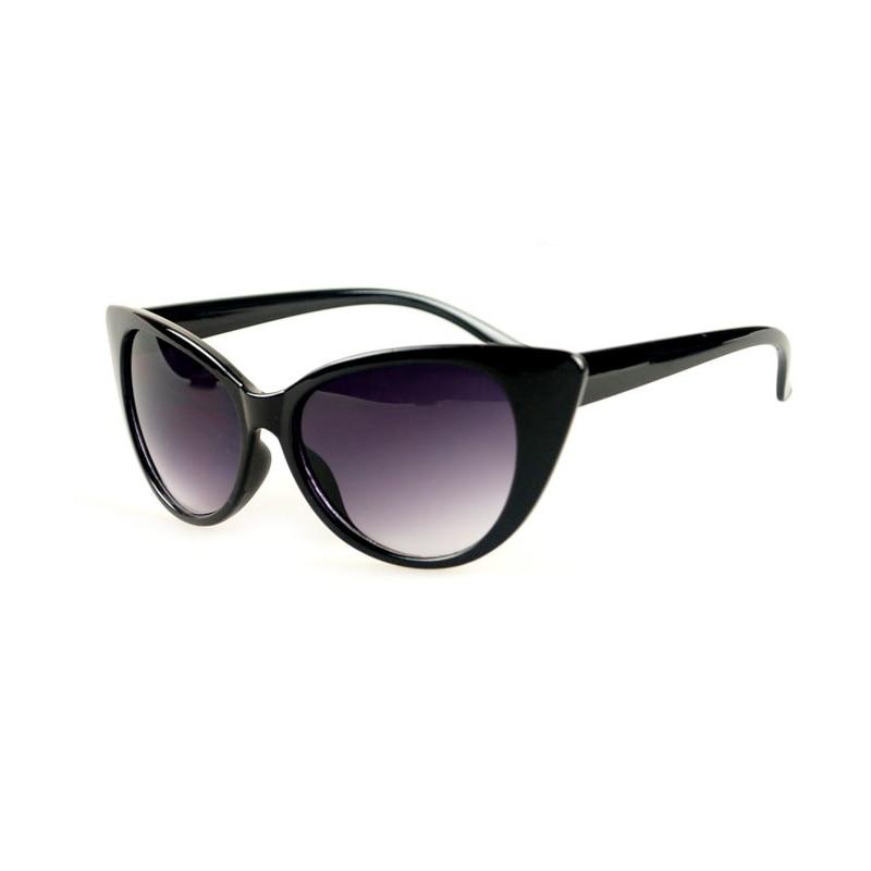 Negro picante ojo de gato gafas de sol marcos gruesos bellahadid LOLITA elegante gatos estilo de ojo cuenta con un perfil de marco grueso