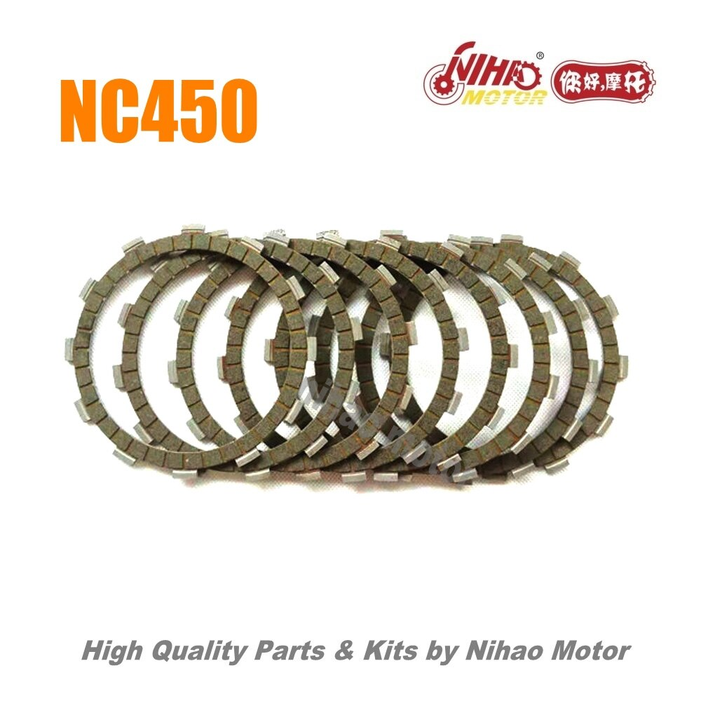 83 NC450 запчасти сцепление пластина фрикционного диска (8 шт.) ZONGSHEN двигатель NC RX4 ZS194MQ (Nihao мотор) KAYO Motoland BSE VENTO