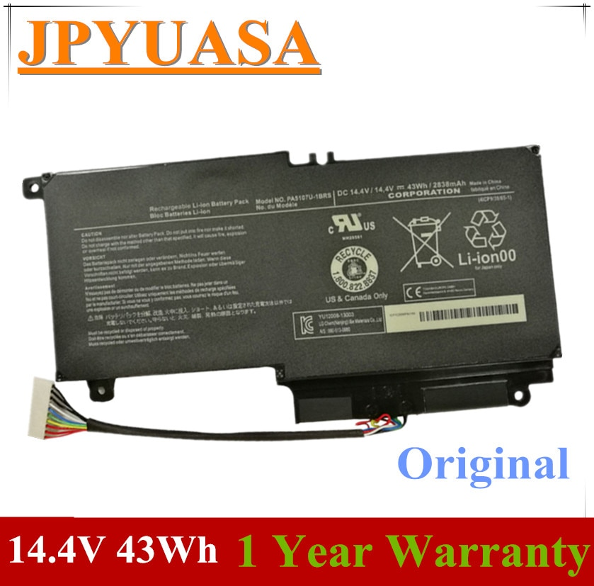 7XINbox 14.4V 43Wh 2838mAh PA5107U-1BRS محمول بطارية توشيبا الأقمار الصناعية L45 L45D L50 S55 P55 L55 L55T P50 P50-A P55 PA5107U