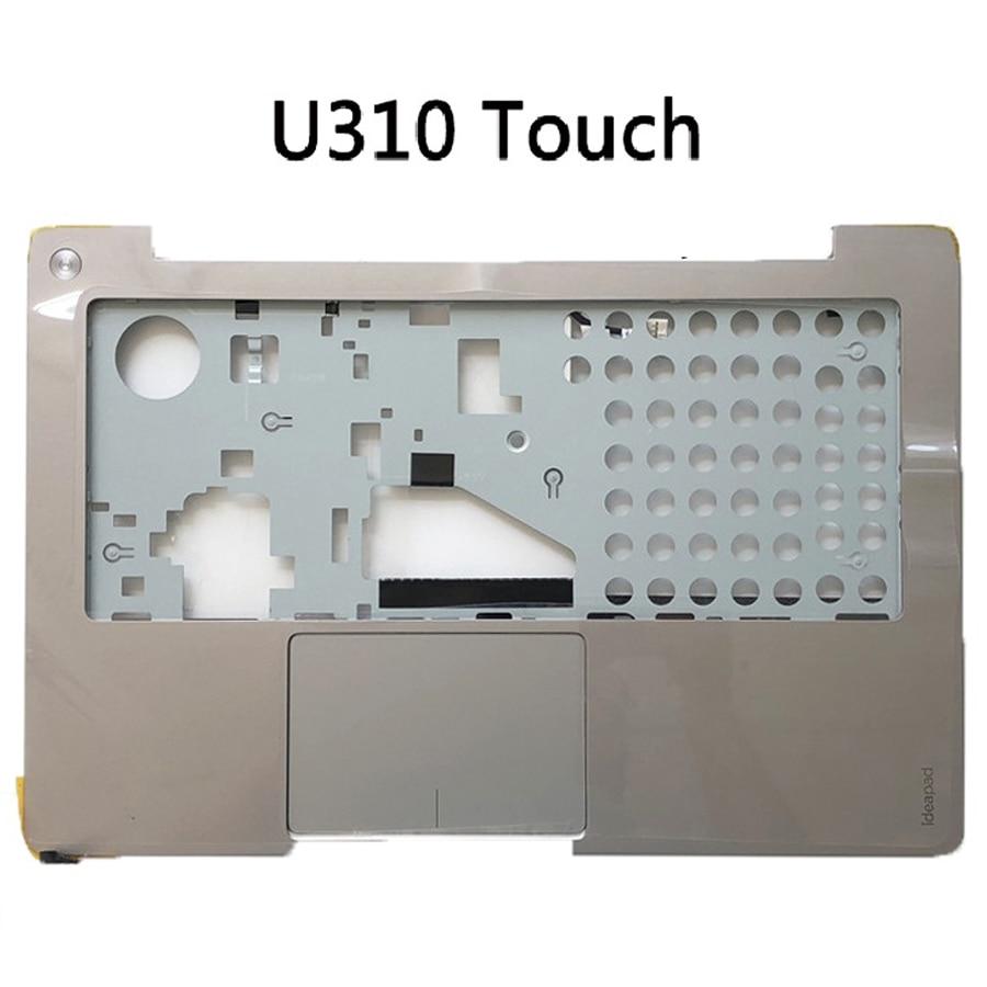 Novo original caso superior palma resto para lenovo ideapad u310 u310 toque u410 u410t topo caso bezel teclado para lenovo u310 u410