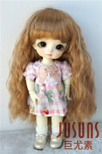 JD402 1/12 1/8 1/6 belle bouclés BJD synthétique Mohair poupée perruques en taille 4-5 pouces 5-6 pouces 6-7 pouces accessoires de poupée de mode