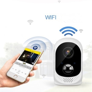 2.0MP Battery Powered Wifi IP Camera 1080P Waterproof Security CCTV Camera Wire-Free Easy Installation Two Way Audio Alarm Push