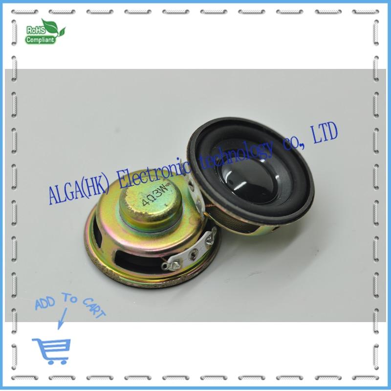 Qualität lautsprecher 3 Watt 4R 3 watt 4ohm lautsprecher mini-verstärker-spezifischen durchmesser 4.