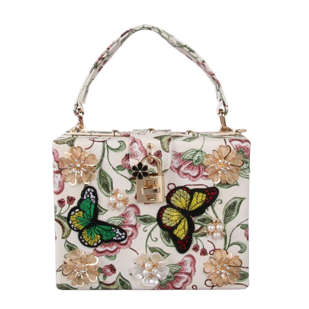 Модный дизайнерский кошелек с жемчужной розой и вышивкой, женская сумка на плечо, клатч, вечерняя сумка, мини-сумка-тоут