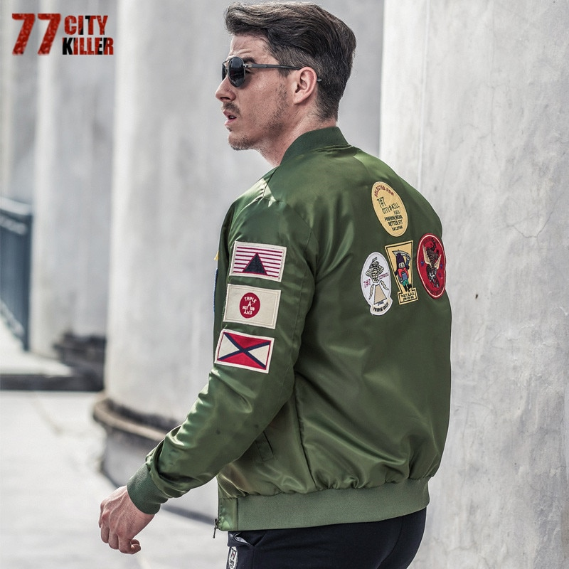 Jaqueta avião cidade killer masculina, casaco militar tático plus size 6xl