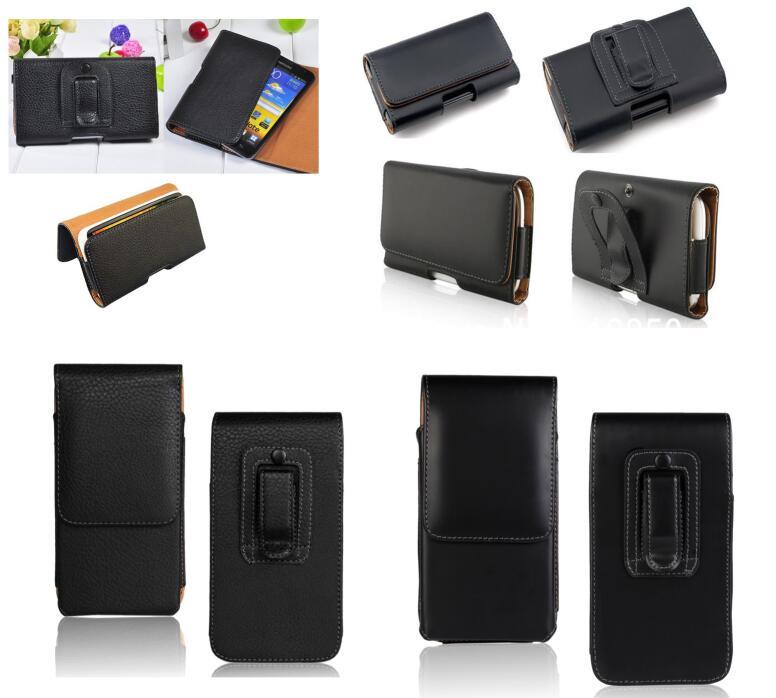 Couro Bolsa Holster Belt Clip Capa Para DOOGEE N20 N10 N100 S40 BL5500 Y8C Y8 Plus X70 S55 Lite Elephone U Pro P8 Max H1 Saco