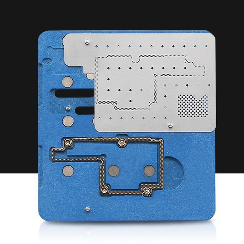 Logic Board BGA Repair Tools for iPhone X Planting Tin Fixture Motherboard IC Chip Ball Soldering Net
