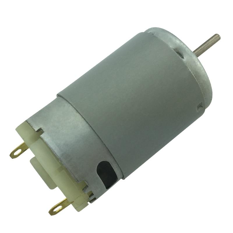 RS395 High Speed Motor Spielzeug Modell Elektrische Motor Home Appliance Roboter Motor 12V 7500RPM 24V 15000RPM