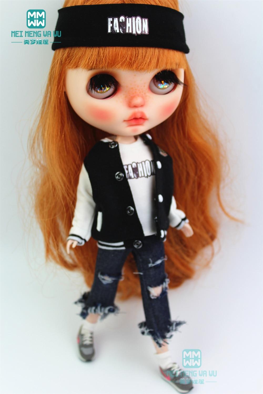 Одежда для куклы подходит Blyth Azone 1/6 аксессуары для куклы модная повседневная спортивная одежда, спортивные штаны