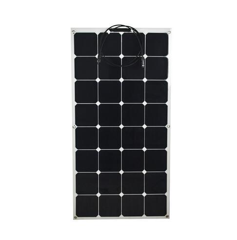80 W Semi Flexível painel solar, módulo Solar para aplicações 12 V e 18 V casa