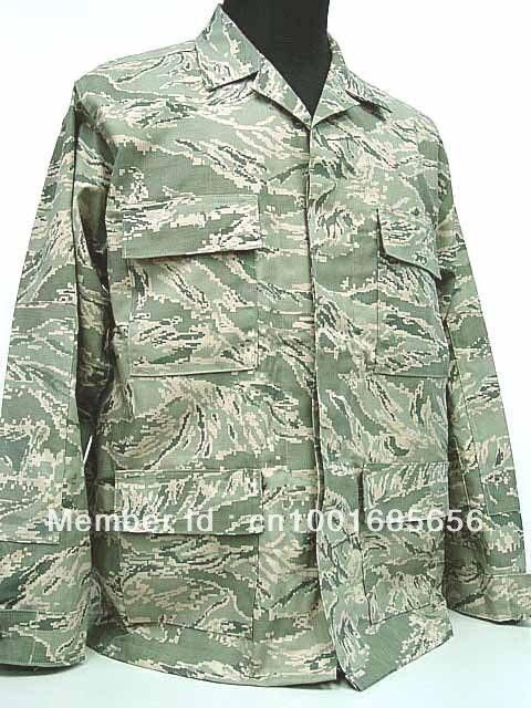 US Air Force ABU Camo Airman Battle BDU Uniform Set