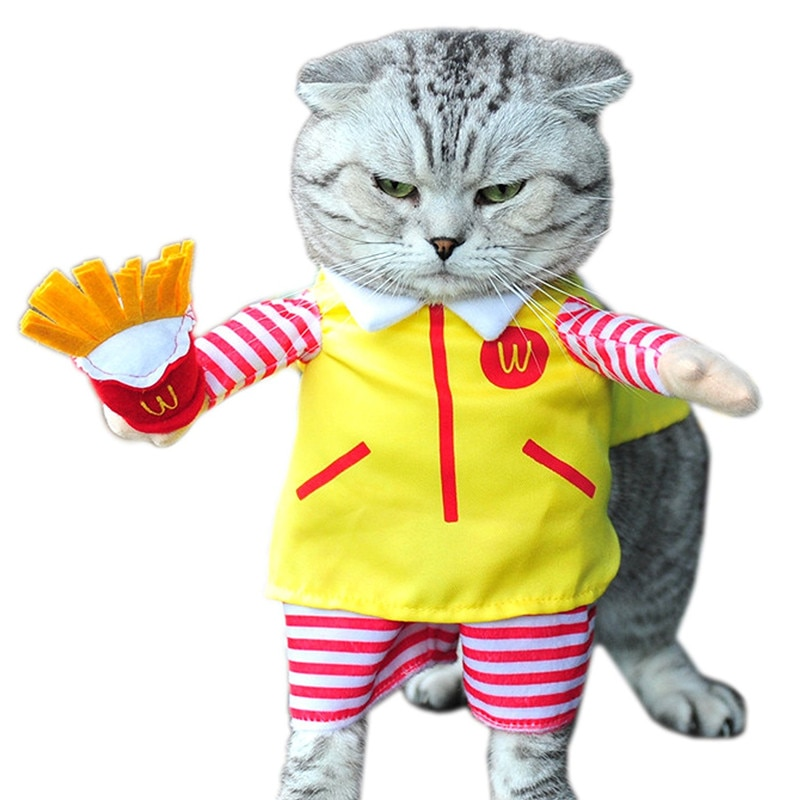 Gomaomi Cute Pet Dog Cat Costume Suit Puppy Clothes Party Halloween Dress