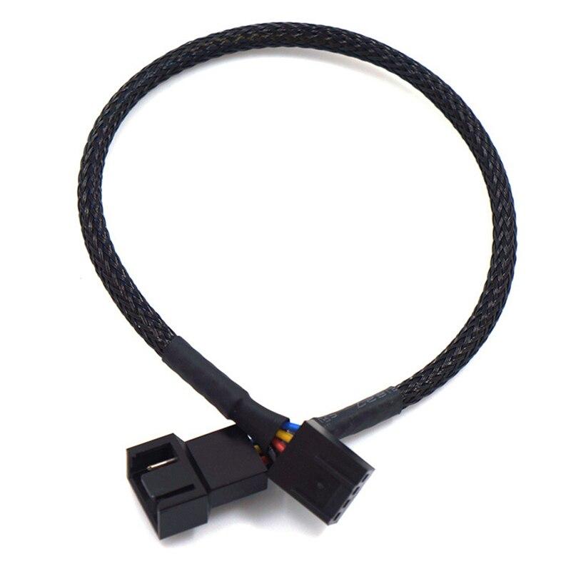 Conectores de Cables de alimentación de 4 pines, 27/42/60/80cm, Cable de extensión PWM, placa principal, CPU, ventilador de 4 pines, Cable adaptador 4 P, CAJA DE ORDENADOR 1 unidad