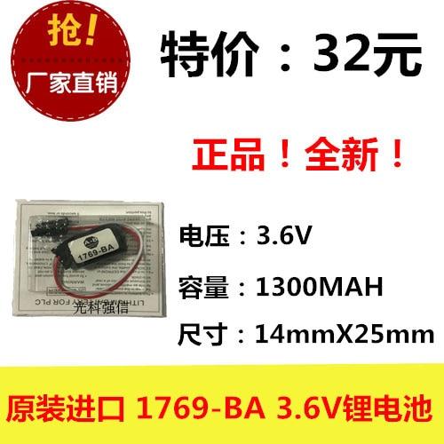 3.6v li po li-ion batteries lithium polymer battery 3 6 v lipo li ion rechargeable lithium-ion for 1769-BA 3.6V