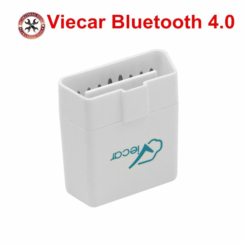 2019 Viecar ELM327 Bluetooth 4,0 V1.5 OBD2 coche herramienta de diagnóstico OBDII J1850 OBD coches escáner para ios Android ventana elm327 v1.5