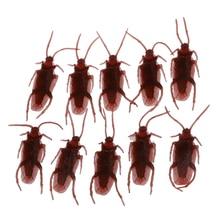 10 cucarachas falsas broma novedad cucarachas bichos aspecto Real