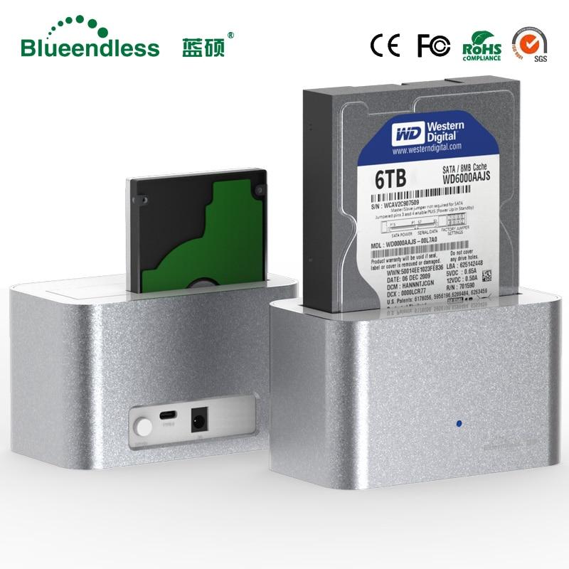 Aluminum Hdd Dock Box 3.5