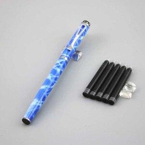 DKW брендовые перьевые ручки, металлическая ручка из нержавеющей стали, школьные и офисные канцелярские материалы для письма, деловой подаро...