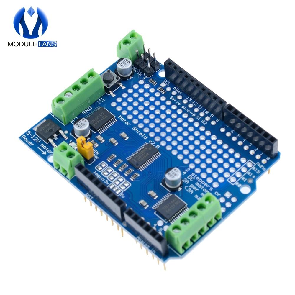 TB6612 IIC I2C Mosfet Stepper Motor Module PCA9685 Servo Driver Shield Module For Arduino Robot  PWM Uno Leonardo Replace L293D