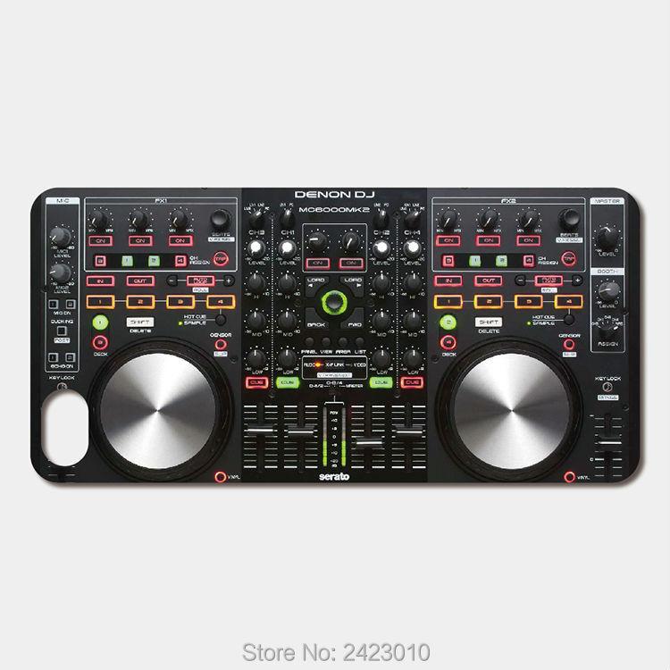 Para ZTE Nubia Z9 Mini Z7 Z11 Max hoja V8 V7 V6 X7 A510 L2 L3 Axon 7 Max cubierta denon dj mezclador digital serato de los casos del teléfono celular del