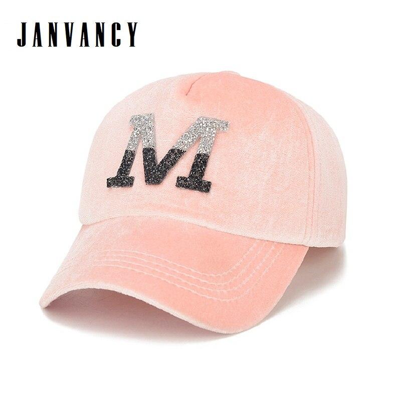 Pleuche-casquette de Baseball en daim pour femmes   Casquette brillante en strass, casquette à rabat scintillante rose noir rouge, casquette de luxe brillante
