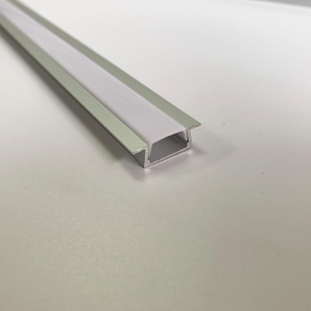 50 PCS 1 comprimento m canal de alumínio tira conduzida perfil de alumínio levou frete grátis DHL caixa Item no. LA-LP06