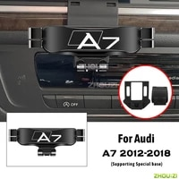 car mobile phone holder air vent mounts stand gps gravity navigation bracket for audi a7 4gh 4gj 2012 2018 car accessories