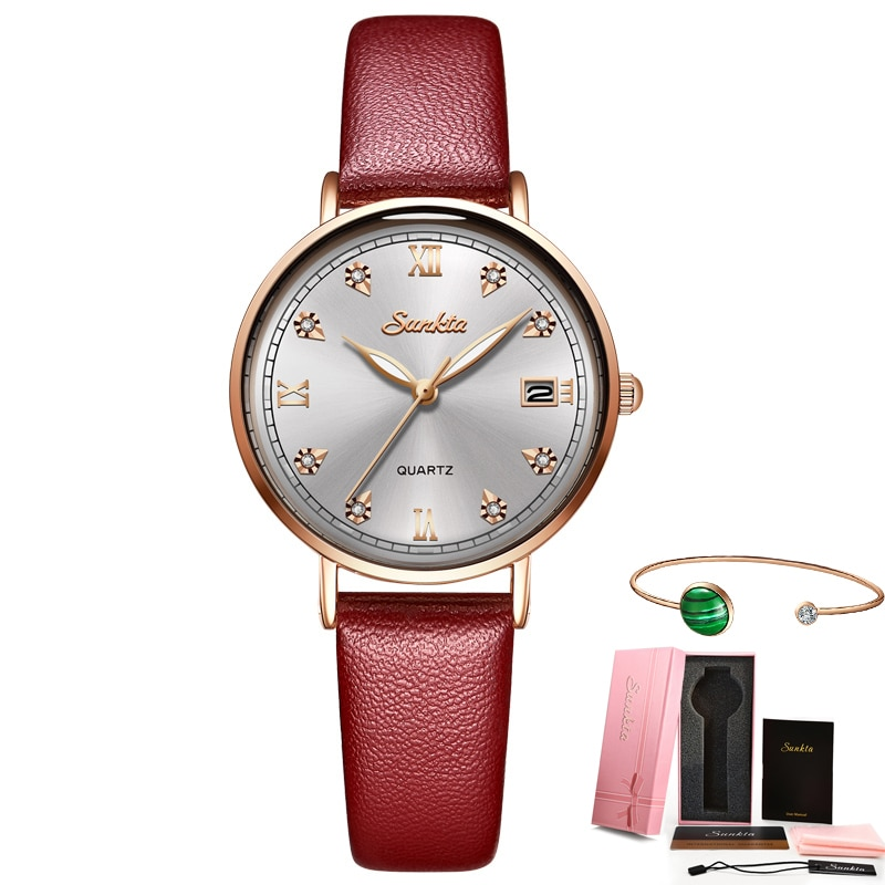 SUNKTA 2021 NEW Fashion Ladies Watches Top Brand Luxury Female Clock Creative Design Women Watches Waterproof Watch reloj mujer enlarge