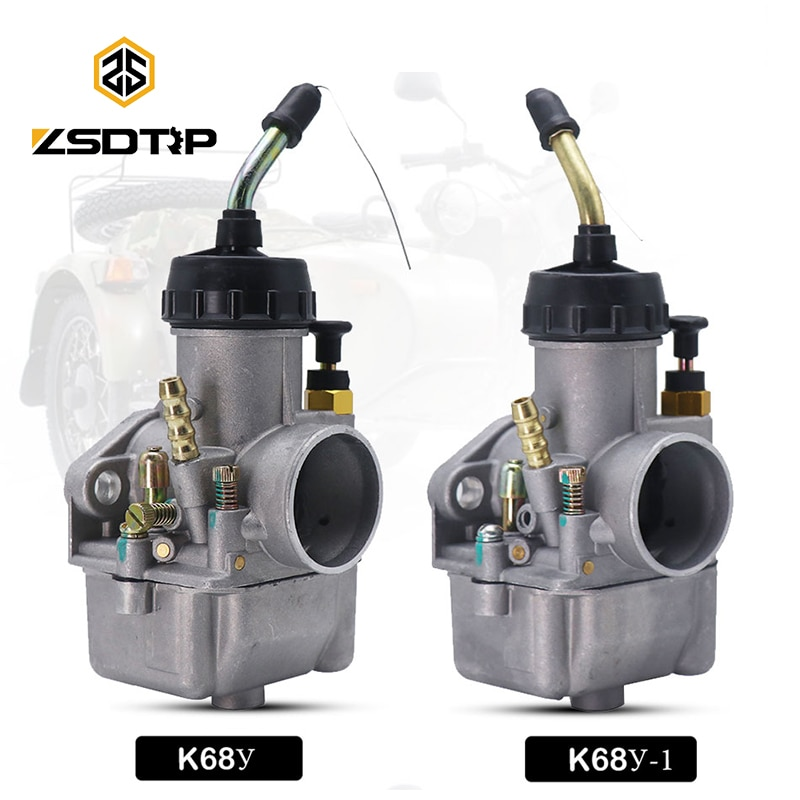 ZSDTRP 2 قطعة المكربن k68y بيكار زوجين الأورال 650 DNEPR MT الروسية للدراجات النارية ل IMZ-8.123 К68У к68и-01 Dnepr MT-11 CMH 8