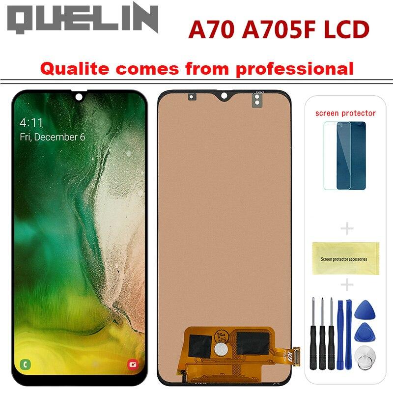 "Incell A70 LCD para Samsung Galaxy A70 2019 A705 A705F SM-A705F pantalla táctil pantalla digitalizador Asamblea reemplazo de piezas 6,7"""
