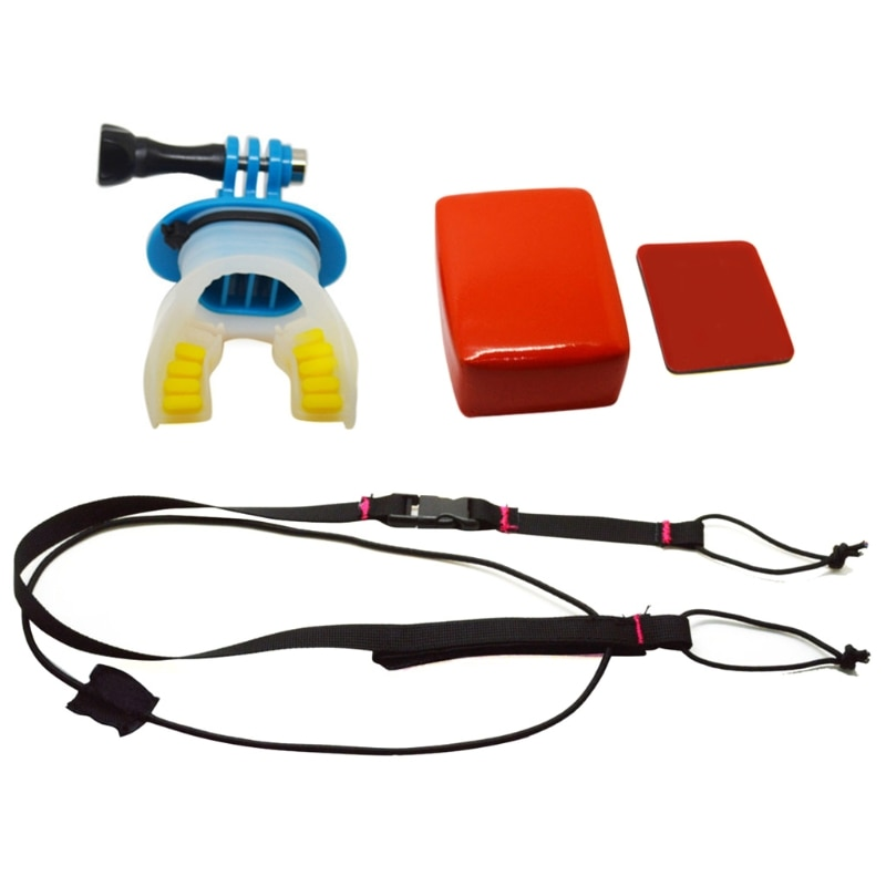 Teeth Braces Holder Surfing Underwater Camera Mouth Mount For GoPro Hero 6/5/4/3 dropship