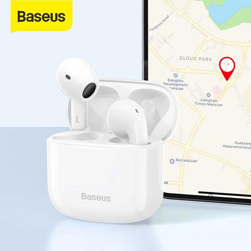 Baseus Bowie E3 fone سماعة رأس مزودة بتقنية البلوتوث سماعات لاسلكية TWS سماعات ، شحن سريع ، تأخير 0.06 ثانية ، تطبيق الموقع