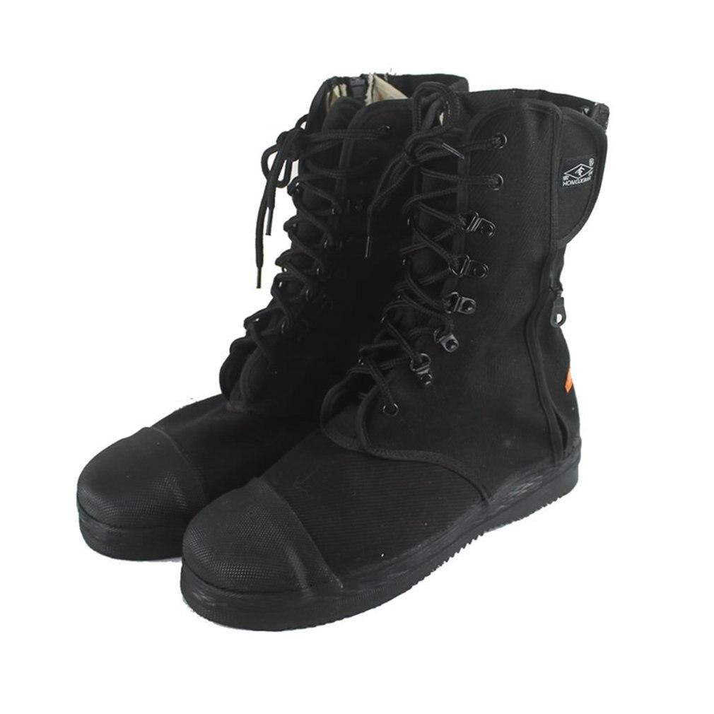 DA-088 confortable anti-dérapant pompier bottes de sauvetage bottes de protection Anti-crevaison bottes de feu chaussures dassurance du travail