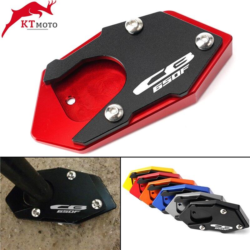 Para Honda CB 650F CBR 650F CB650F CBR650F 2014-2020, placa de soporte de extensión de caballete CNC para motocicleta
