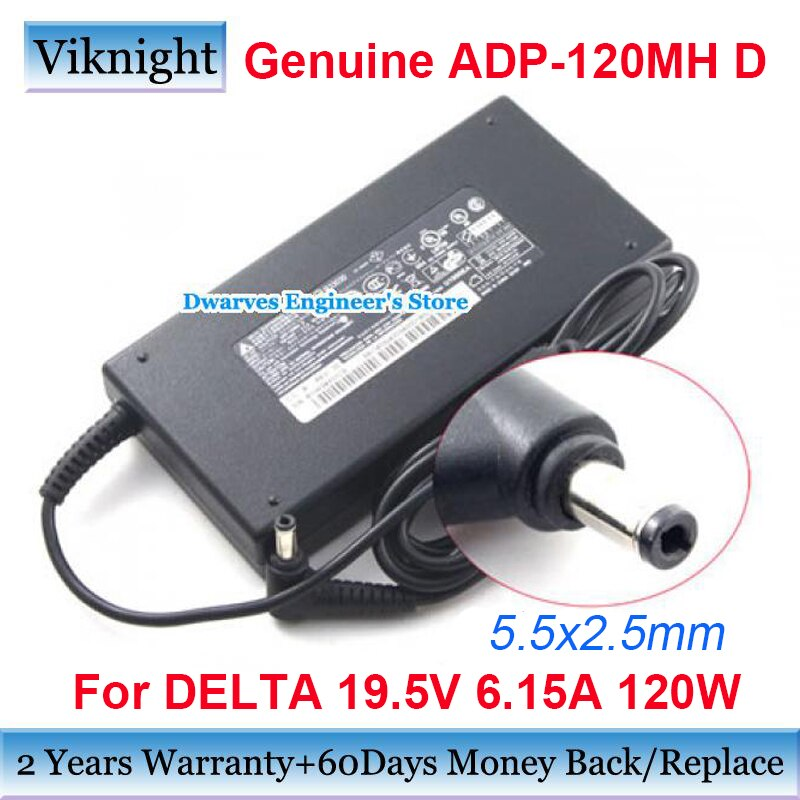 حقيقية A12-120P1A 19.5v 6.15A 120W AC محول ل دلتا ل Msi ge60 ge70 أباتشي GP70 GS70 GS60 ADP-120MH D مهايئ شاحن