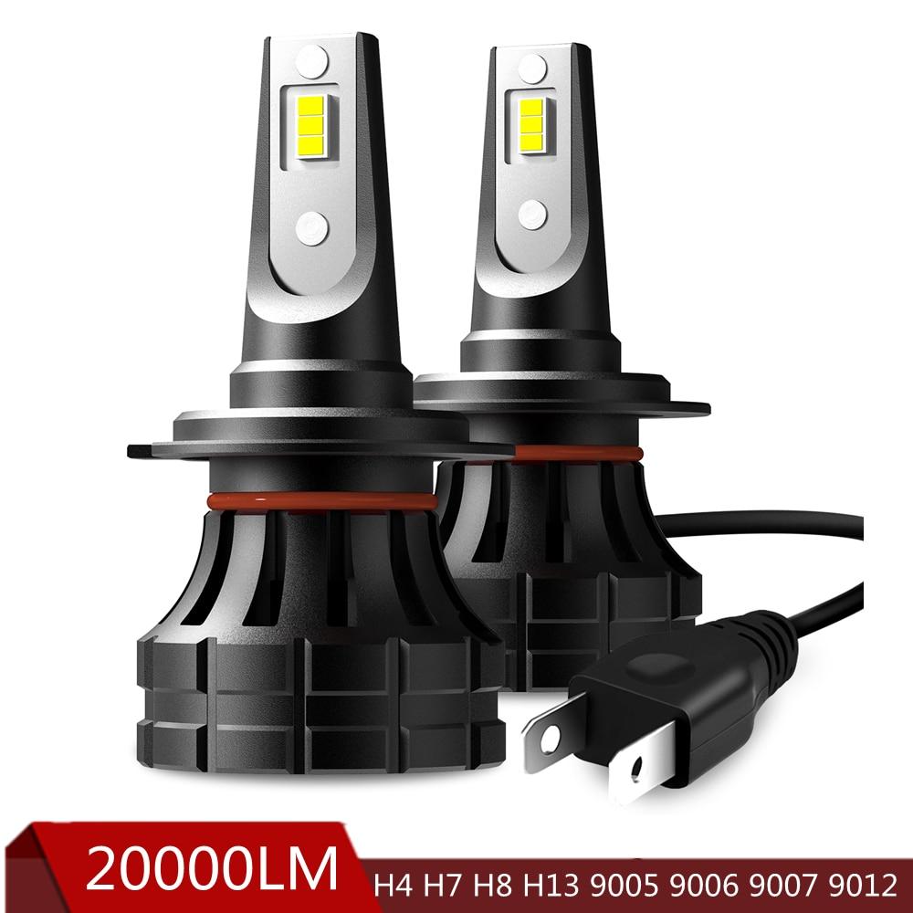 AUXITO 20000LM Super Helle H4 LED Lampe H7 H8 H11 H13 9005 9006 9007 Auto Scheinwerfer Für Chevrolet Cruze Captiva aveo Lacetti