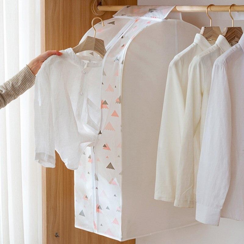 Funda tridimensional para polvo, bolsa colgante para ropa, bolsa de almacenamiento para el hogar, funda para el traje, chaqueta para el polvo