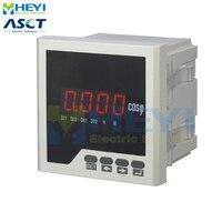 Single phase digital power factor meter COS power factor indicator COS meter LED HY-H