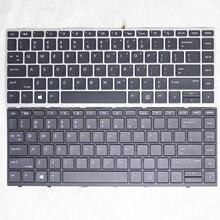 100%New Brand Original For HP Probook 430 G5 440 G5 445 G5 Series English Laptop Keyboard US Backlit