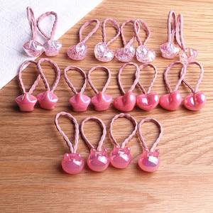 Hair Tie For Girl Kids Elastic Rubber Bands Child Korean Head Accessories Sets Heart Star Bear Ball Scrunchies Wholesale
