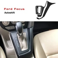for ford focus 2012 2014 interior central control panel door handle 3d 5d carbon fiber stickers decals car styling accessorie