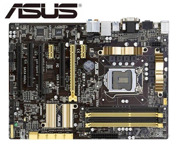 ASUS Z87-A Original placa madre intel LGA 1150 DDR3 32GB USB2.0 USB3.0 HDMI DVI VGA Z87 se placa base de escritorio