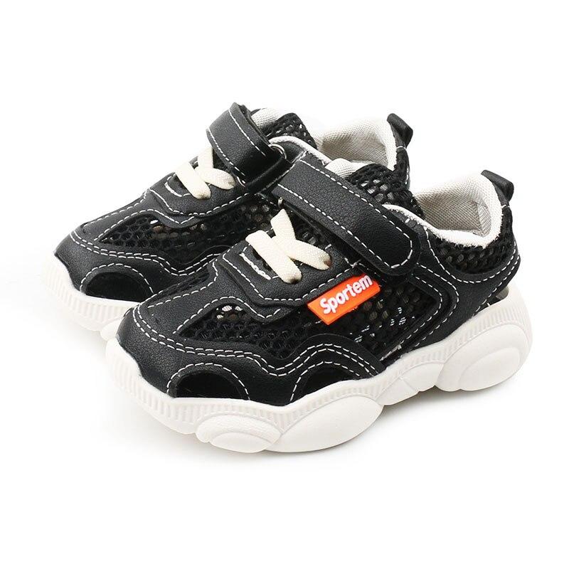 Детские сандалии 2021, сандалии для девочек, пляжная обувь с закрытым носком для мальчиков, детские сандалии, открытая обувь, Нескользящие кро...